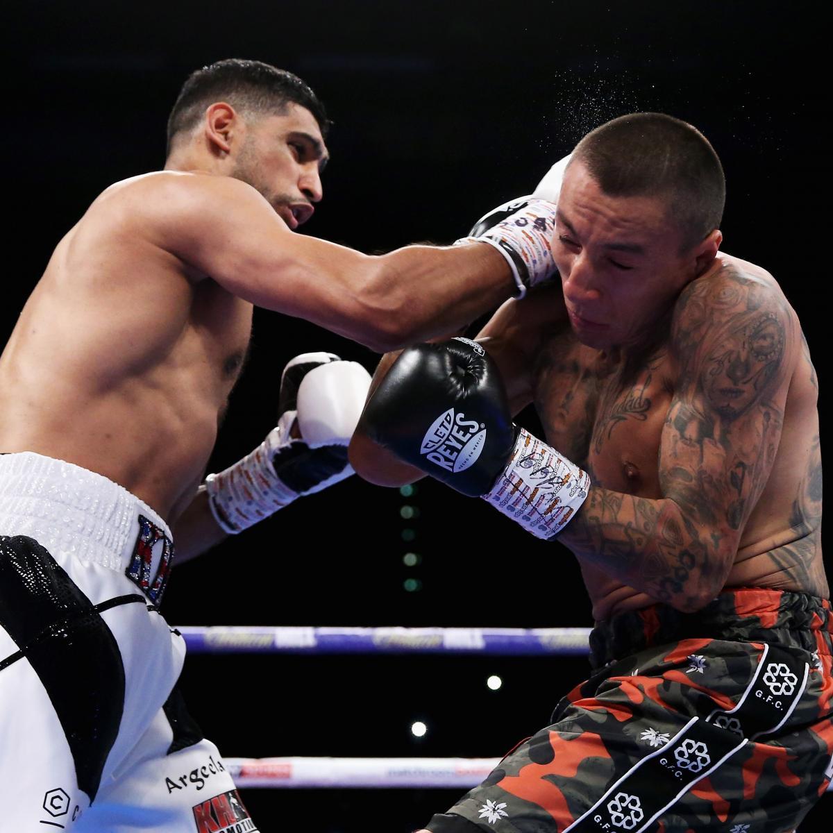 Amir Khan Beats Samuel Vargas Via Unanimous Decision In