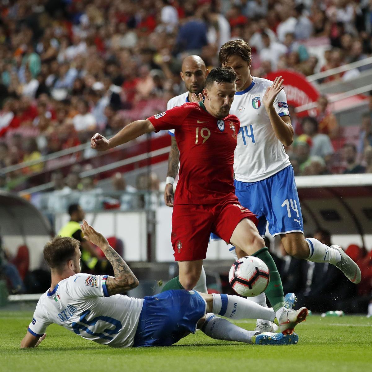 Portugal Beat Italy 1-0 in UEFA Nations League Without ...