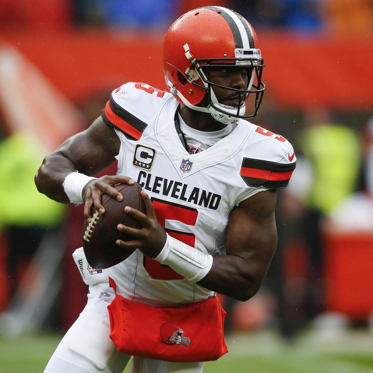 Tyrod Taylor Out vs. Jets After Suffering Concussion; Baker Mayfield Debuts