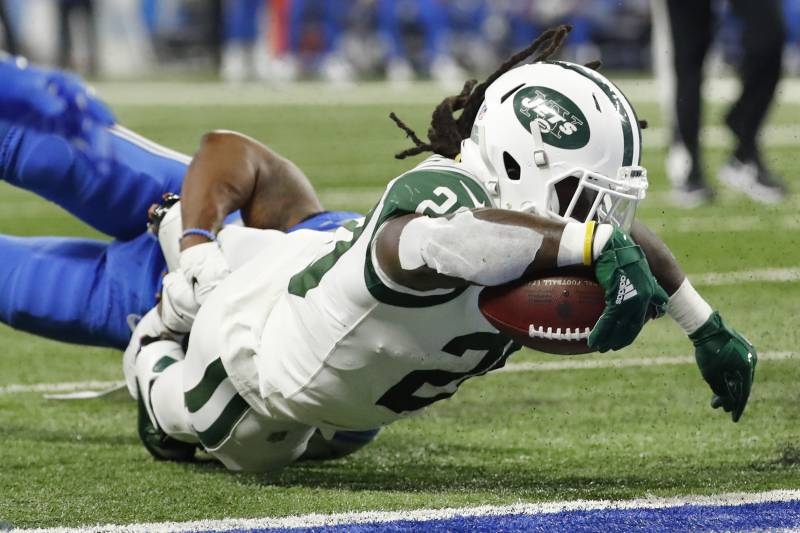 buy online 855f7 f0ee0 Isaiah Crowell Ruled Out vs. Texans with Toe Injury ...