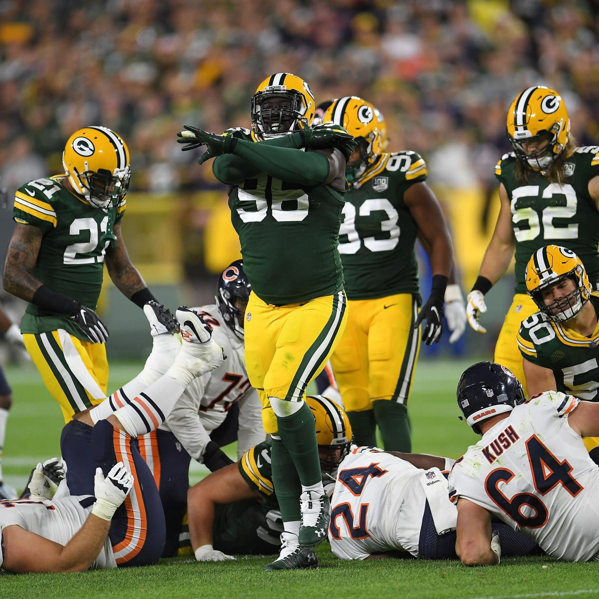 Packers' Muhammad Wilkerson Carted off the Field with Ankle Injury vs. Redskins