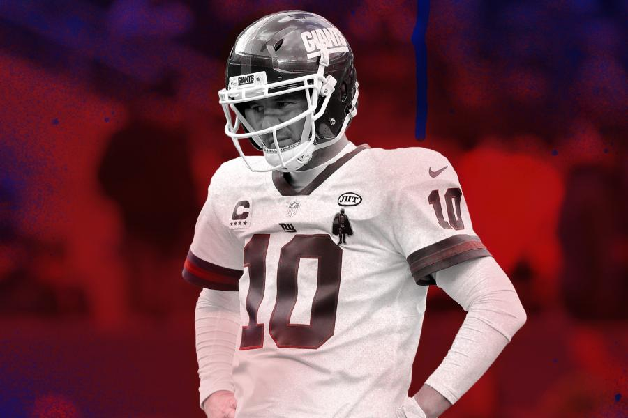 ec741eada Feeling the Pressure  Eli Manning out to Prove Giants Right for Gambling on  Him
