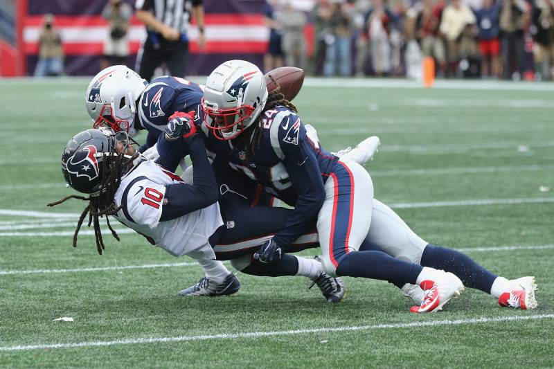 5c2c42d44e6 Duron Harmon Fined over  26K for Hit on DeAndre Hopkins