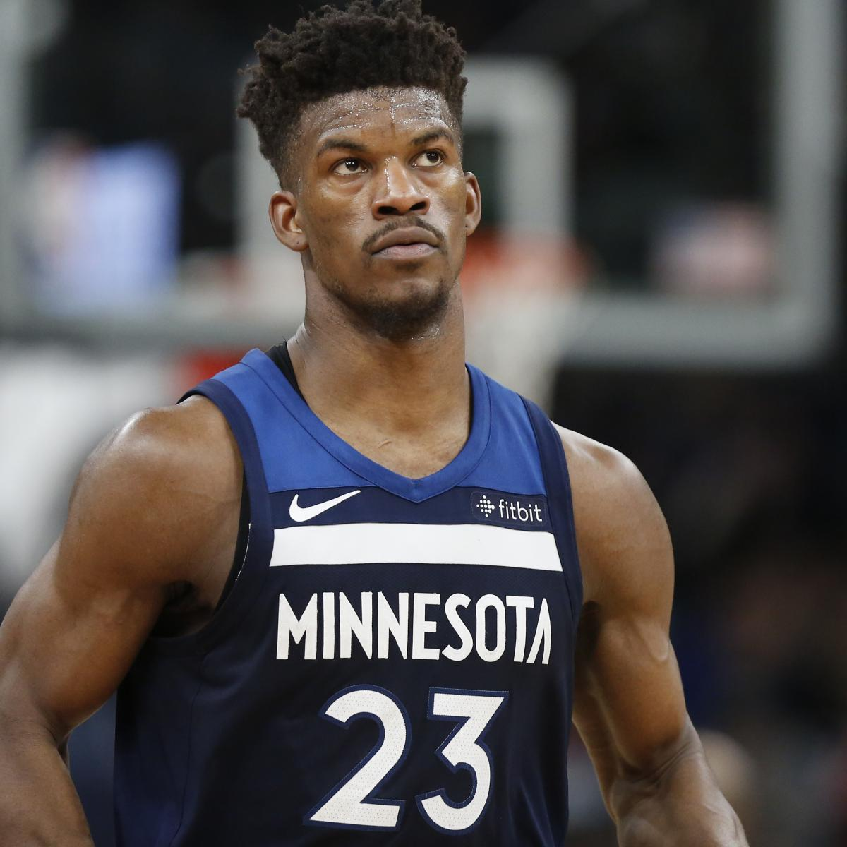 d6b110dc930e Report  Wolves  Jimmy Butler to Be Traded to 76ers for Robert Covington and  More