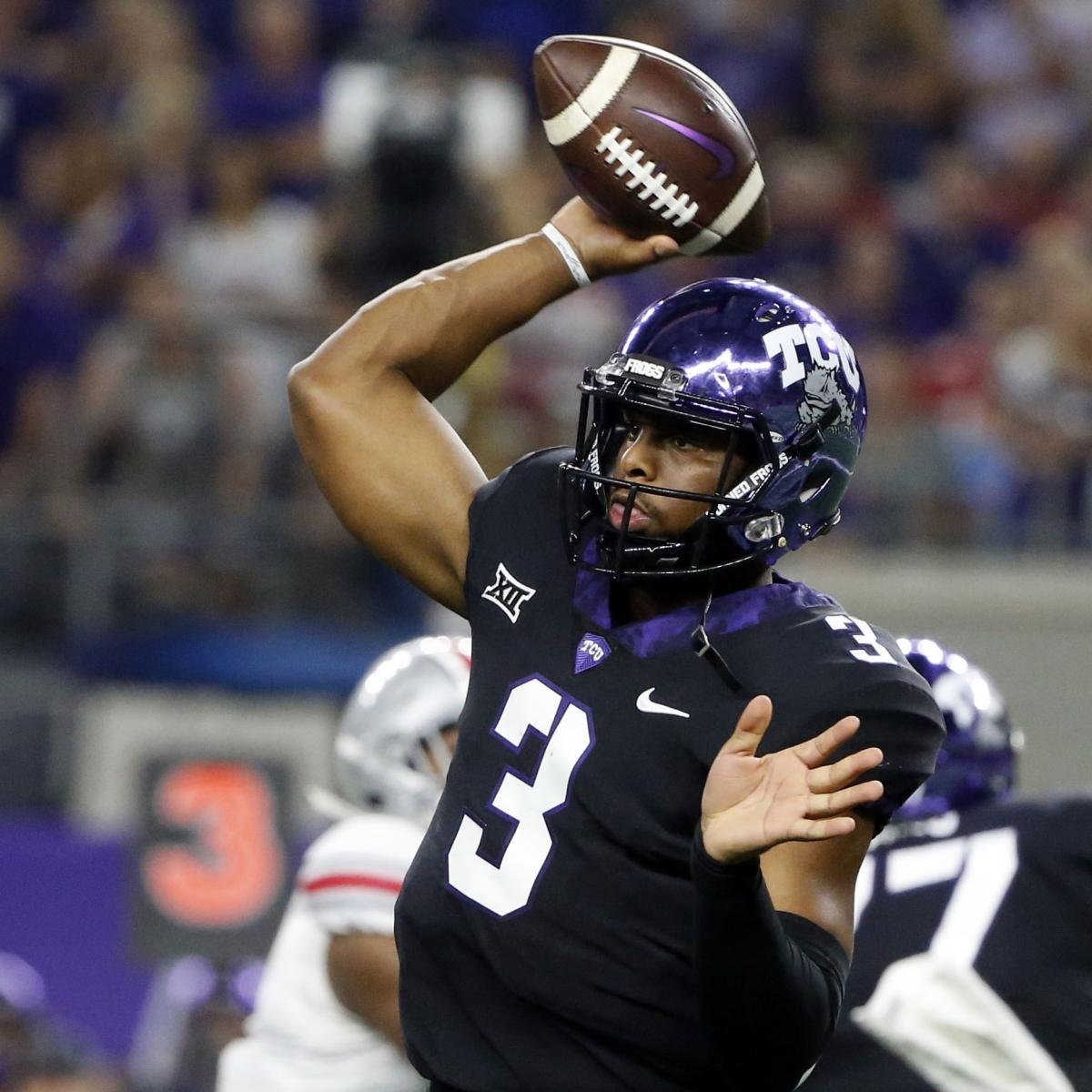 TCU Horned Frogs vs. Texas Longhorns Odds, College ...