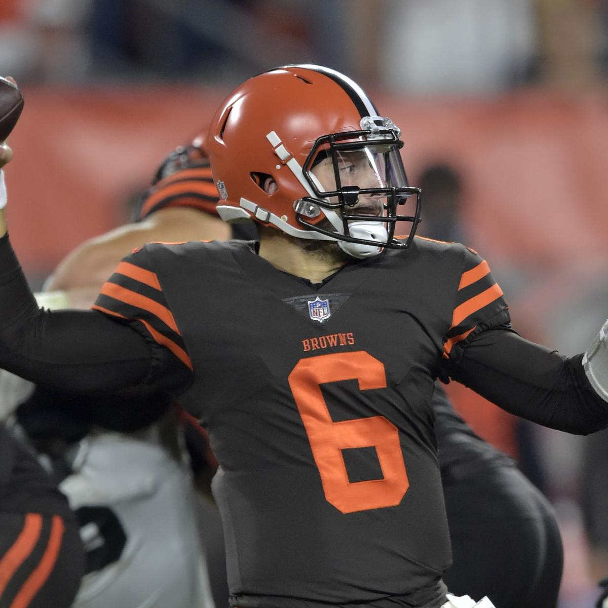 6b1cf516c Baker Mayfield Outshines Sam Darnold in Debut and Offers Tease of NFL s  Future