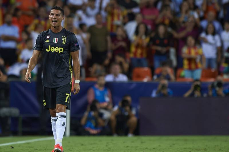 best service 39995 379bb Cristiano Ronaldo Reportedly Set for 1-Game UCL Ban ...