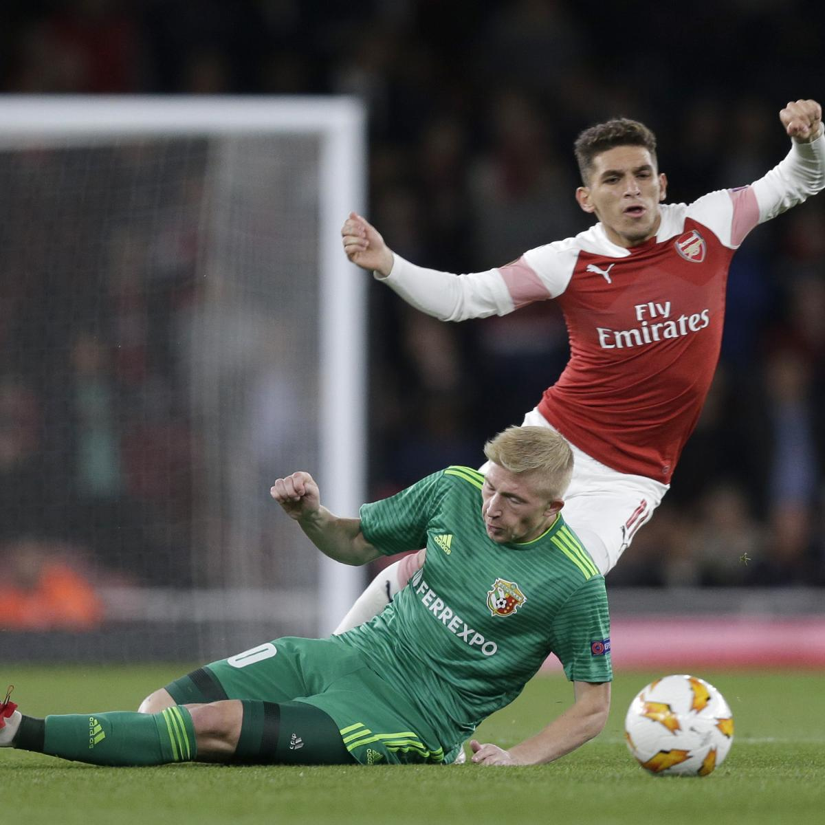 Reports Arsenal Were Ready To Sign Lucas: Unai Emery Hopeful Lucas Torreira Will Be Fit For Everton