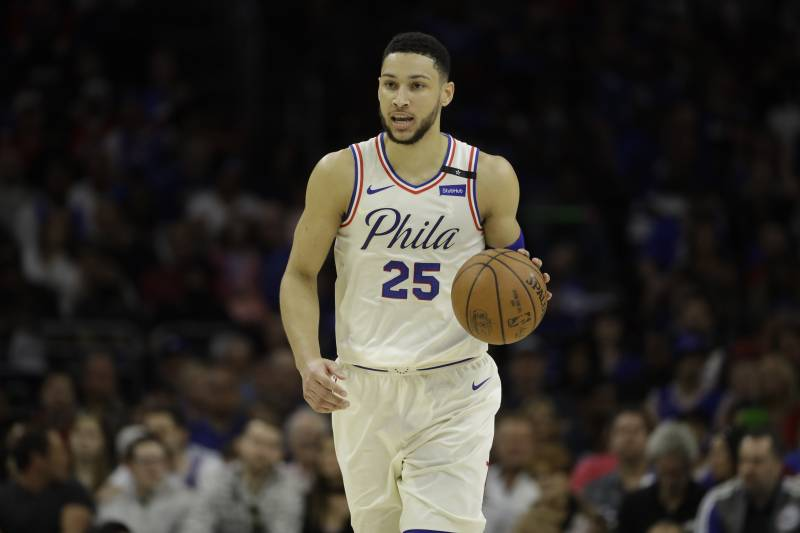 f0250e1d4 Philadelphia 76ers  Ben Simmons in action during Game 3 of an NBA  basketball second-. Matt Slocum Associated Press