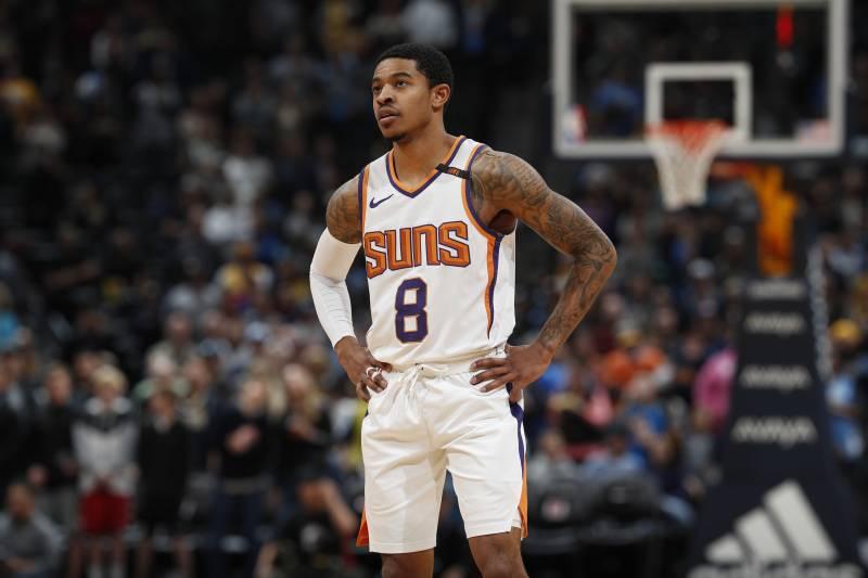 b3a5d1f3f04 Phoenix Suns guard Tyler Ulis (8) in the first half of an NBA basketball