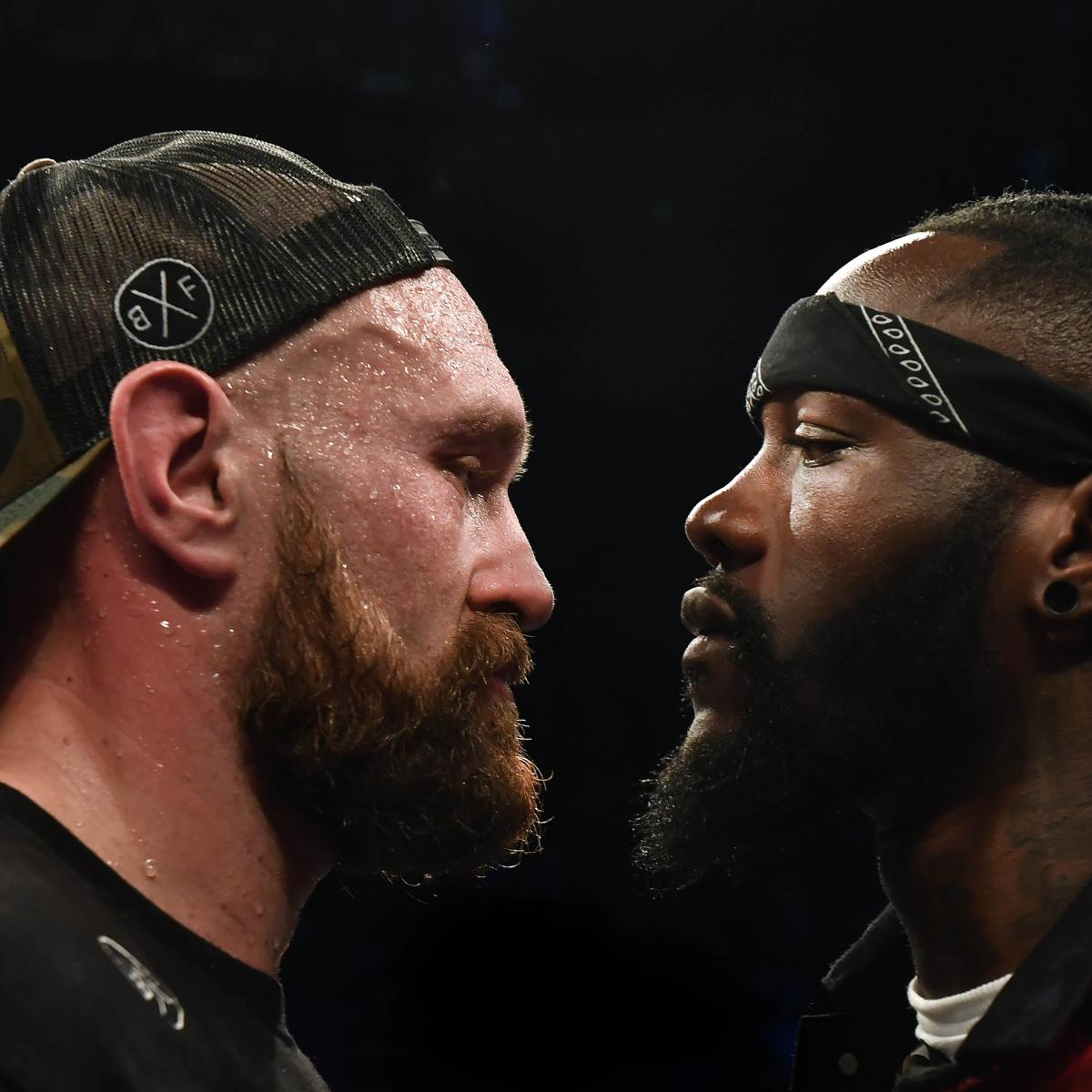 Play Media Logo Set: Deontay Wilder Says He's Signed A Contract To Fight Tyson