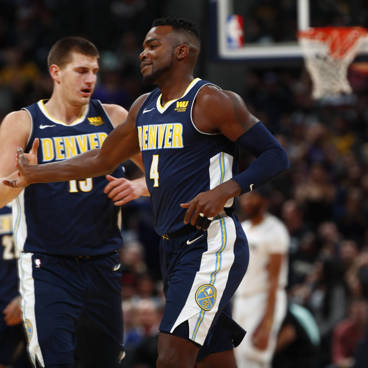 Denver Nuggets Basketball Reference: NBA Rumors: Paul Millsap 'Nudged' Nikola Jokic Into 'Alpha