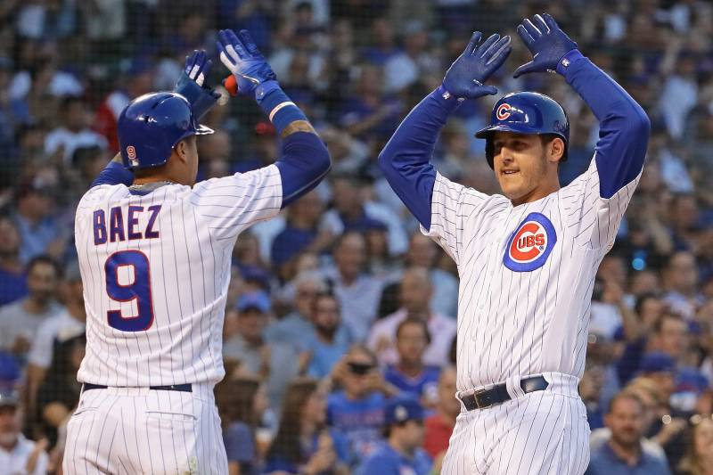 info for a0b8a 6e993 Cubs Clinch Berth in 2018 MLB Playoffs After Brewers Beat ...