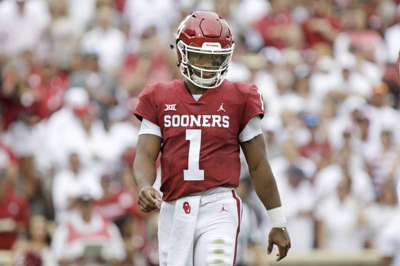 newest 261de 9225c Kyler Murray, Oklahoma Narrowly Avoid Army Upset in OT Win ...