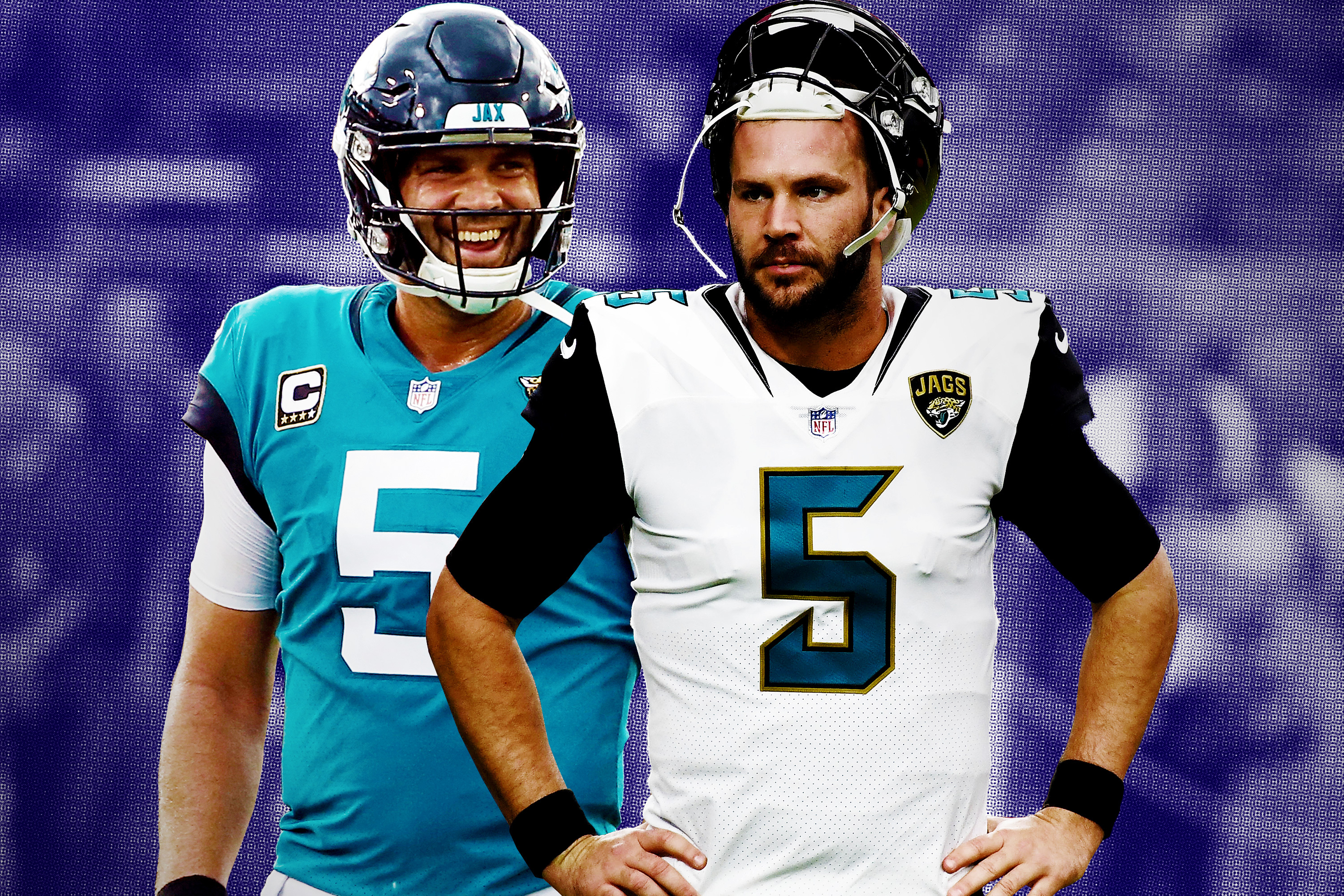 online retailer 0bac8 81e95 The Jaguars See a Champion in Blake Bortles, And They Don't ...