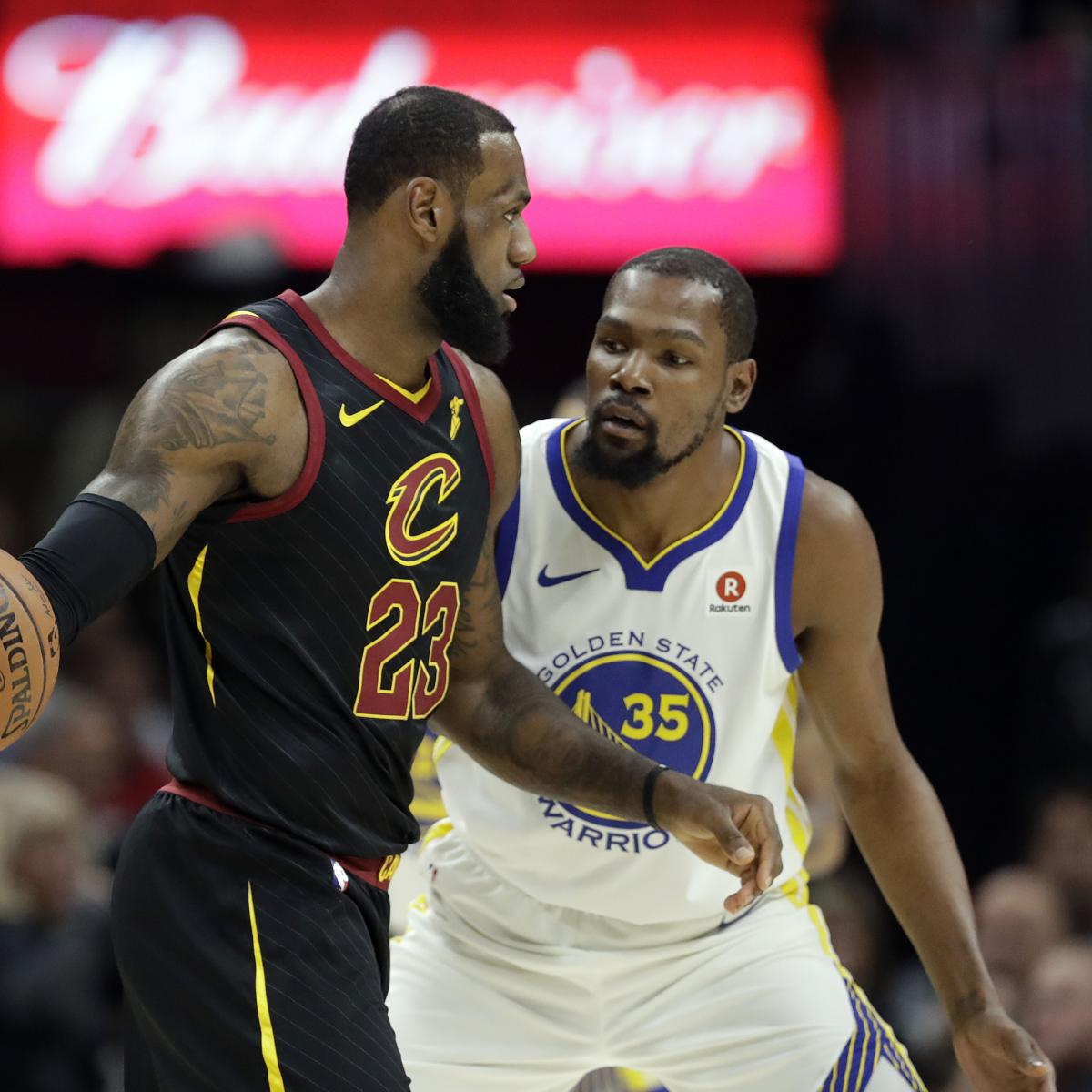Kevin Durant: LeBron James, Lakers Are a 'Sexier Story' Than Warriors