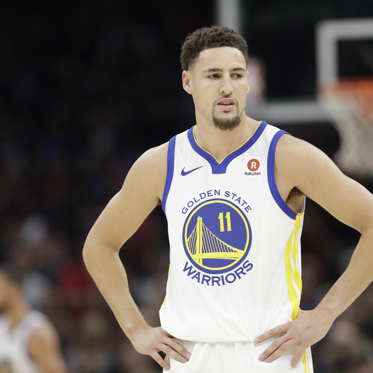 Warriors' Klay Thompson 'Not Really' Curious About Testing Free Agency