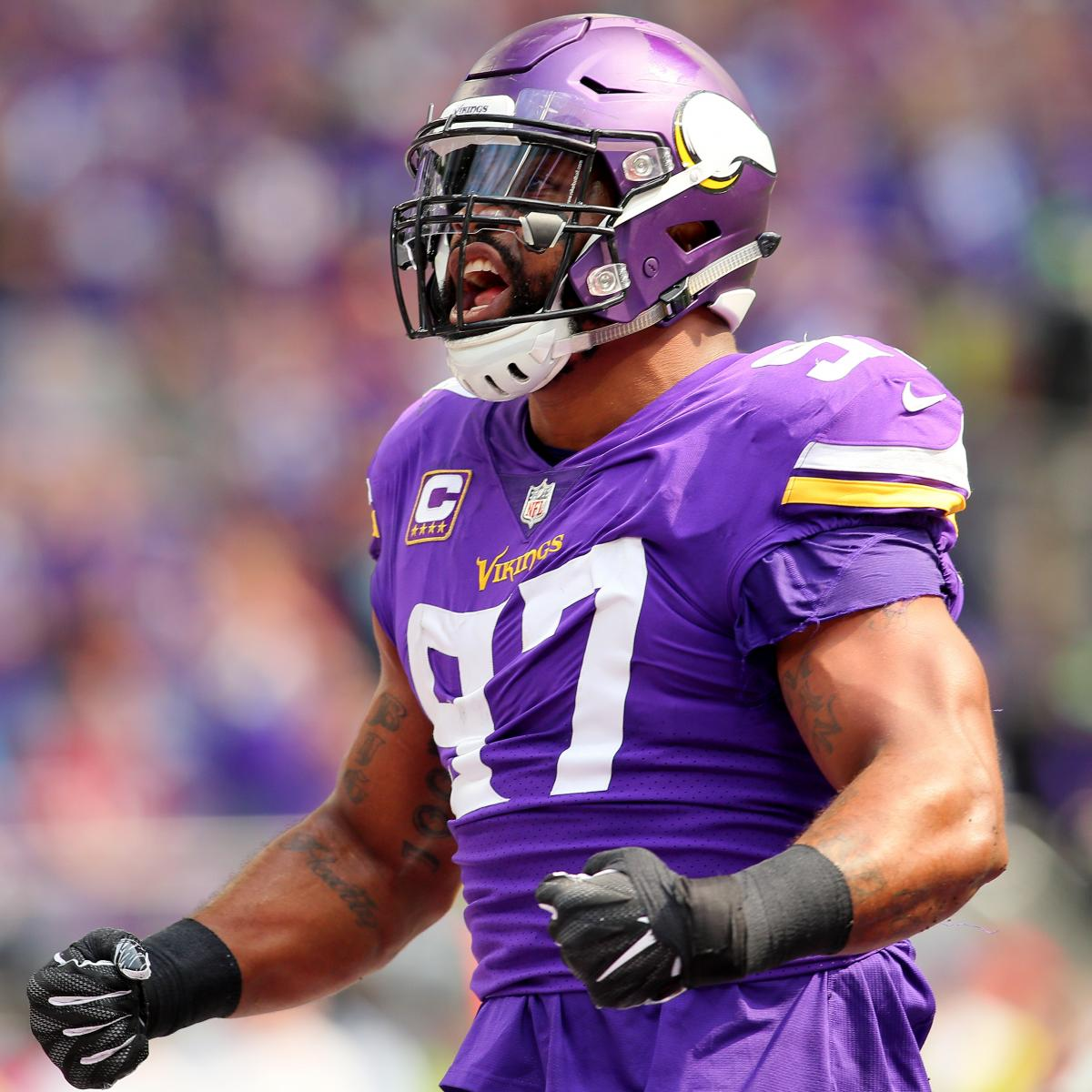 Report: Vikings' Everson Griffen Allegedly Threatened to Shoot Someone at Hotel