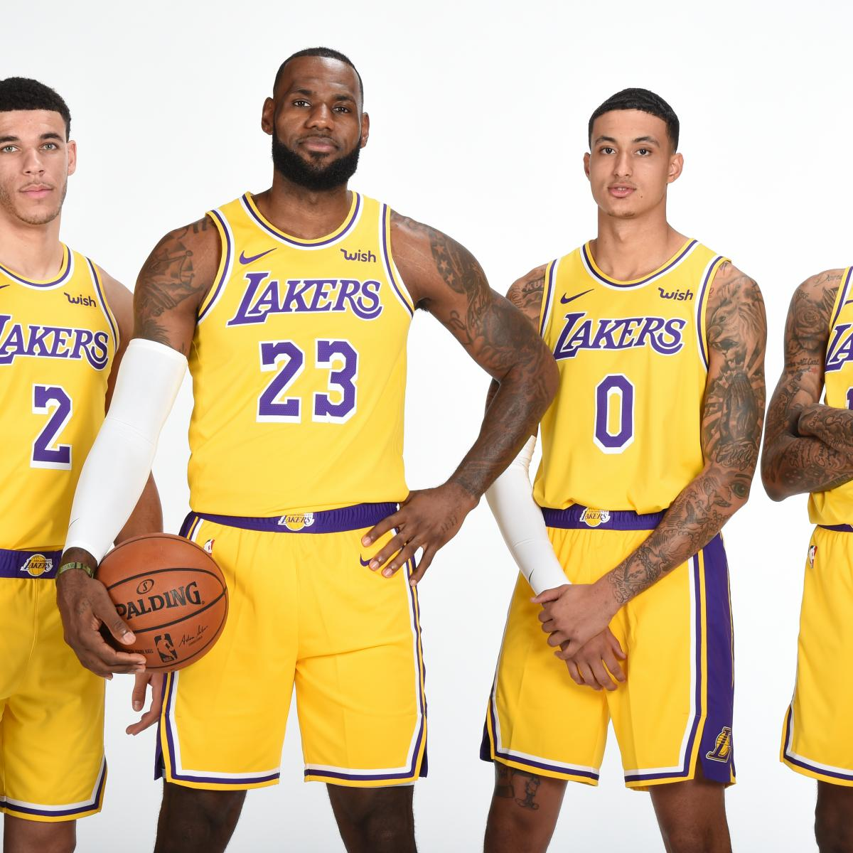 628bd3dc2a3 Lakers News: LeBron James' Season Expectations, Lonzo Ball's New Look and  More