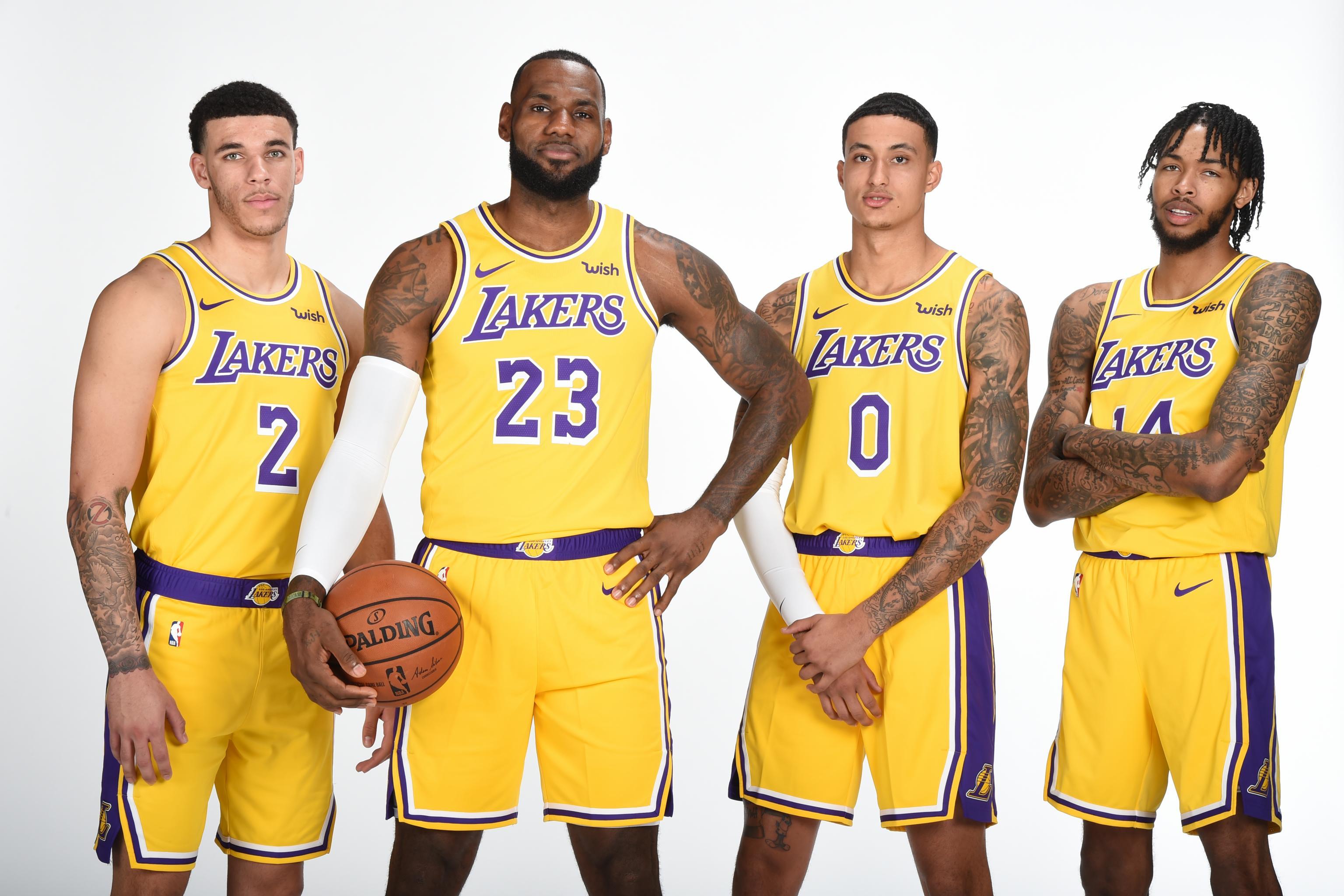 best service 5e7aa b2281 Lakers News: LeBron James' Season Expectations, Lonzo Ball's ...