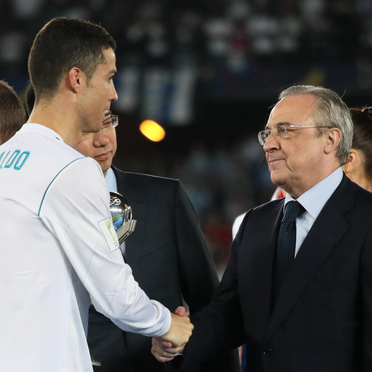 Florentino Perez Says Cristiano Ronaldo Will Return to Real Madrid 'One Day' | Bleacher Report | Latest News, Videos and Highlights