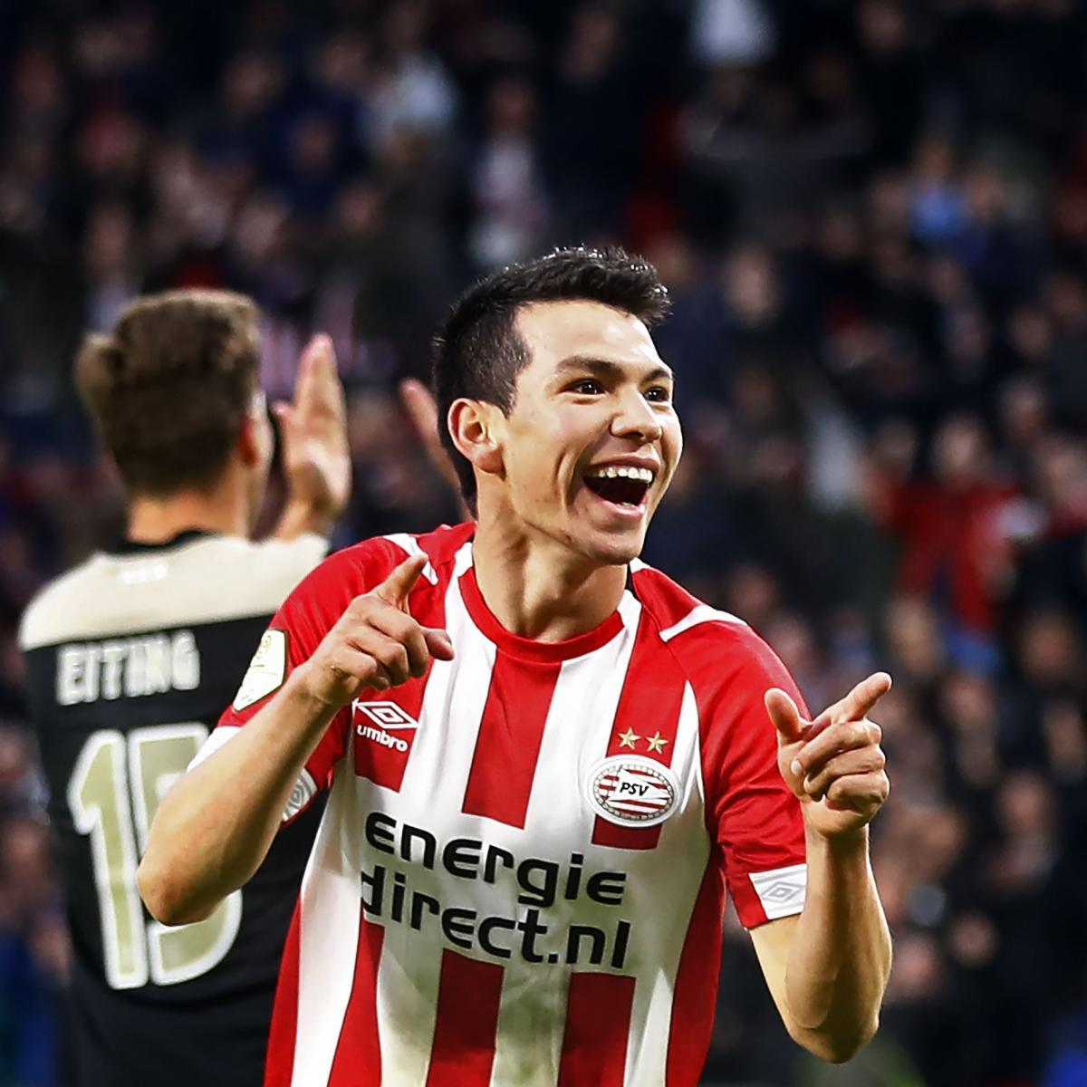 PSV Reportedly Set €60 Million Price Tag for Barcelona Target Hirving Lozano | Bleacher Report | Latest News, Videos and Highlights