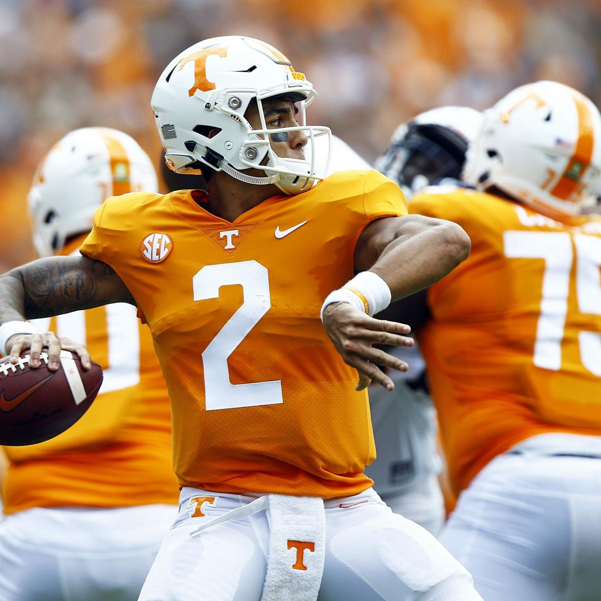 Tennessee Volunteers vs. Georgia Bulldogs Odds, Analysis, Betting Pick | Bleacher Report | Latest News, Videos and Highlights