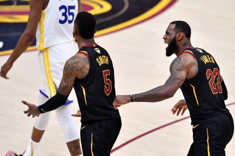 a236493602bf JR Smith on Infamous Finals Blunder vs. Warriors   It Was an Honest ...