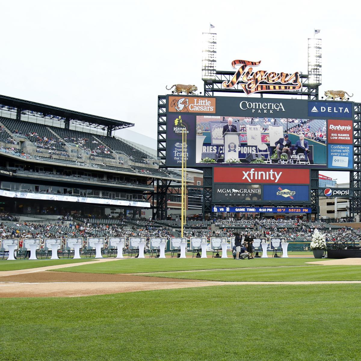 Comerica Park Detroit Michigan: Comerica Park Worker Charged After Video Appears To Show