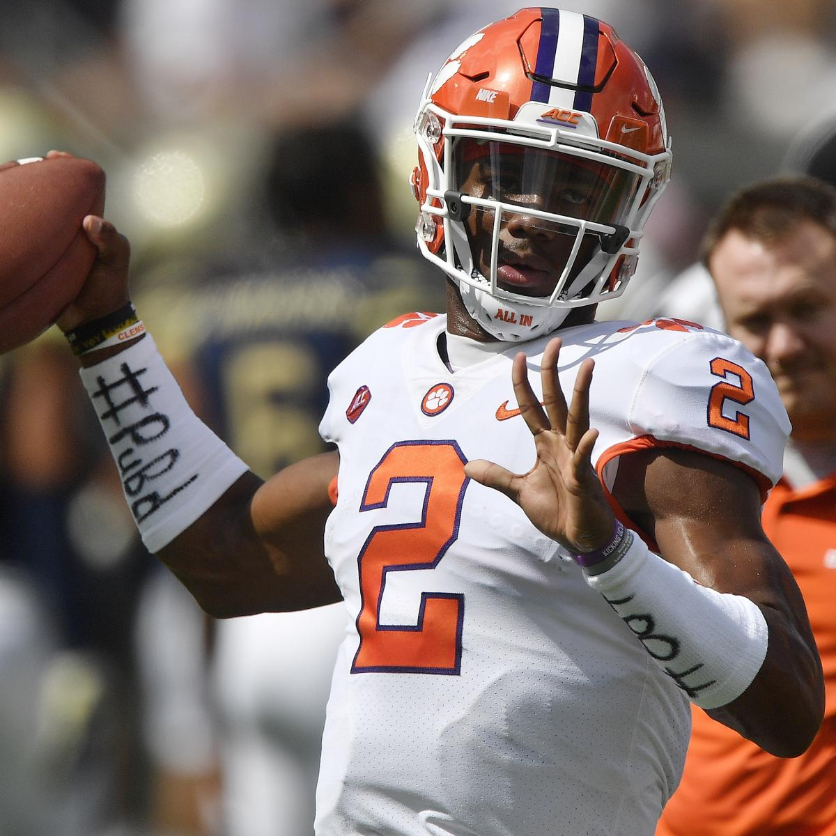 Clemson Qb Kelly Bryant To Transfer After Being Replaced