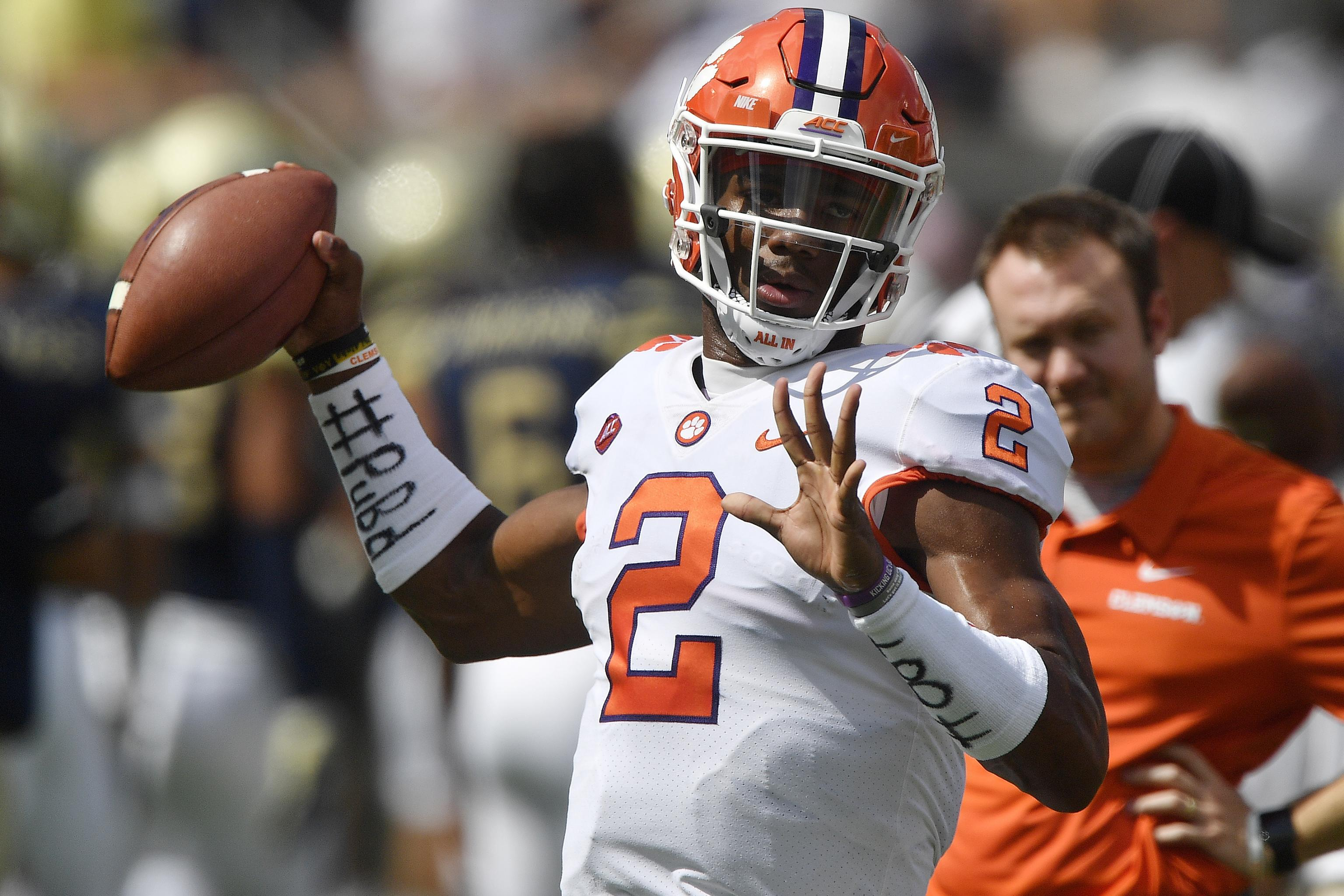 Clemson QB Kelly Bryant to Transfer After Being Replaced by Trevor ...