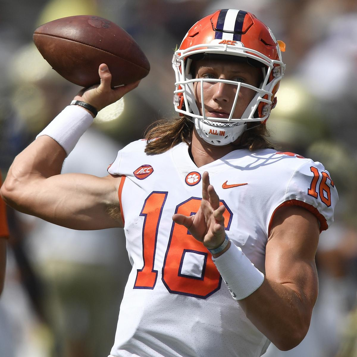 Lawrence Out Trevor Suffering QB  After Clemson Concussion