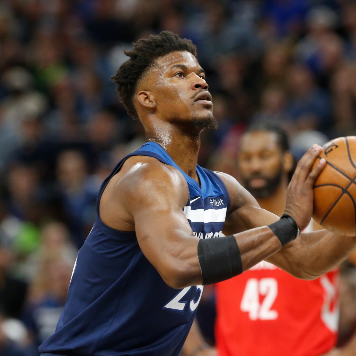 Houston Rockets News Trade: Jimmy Butler Trade Rumors: Rockets Making 'Strong Effort