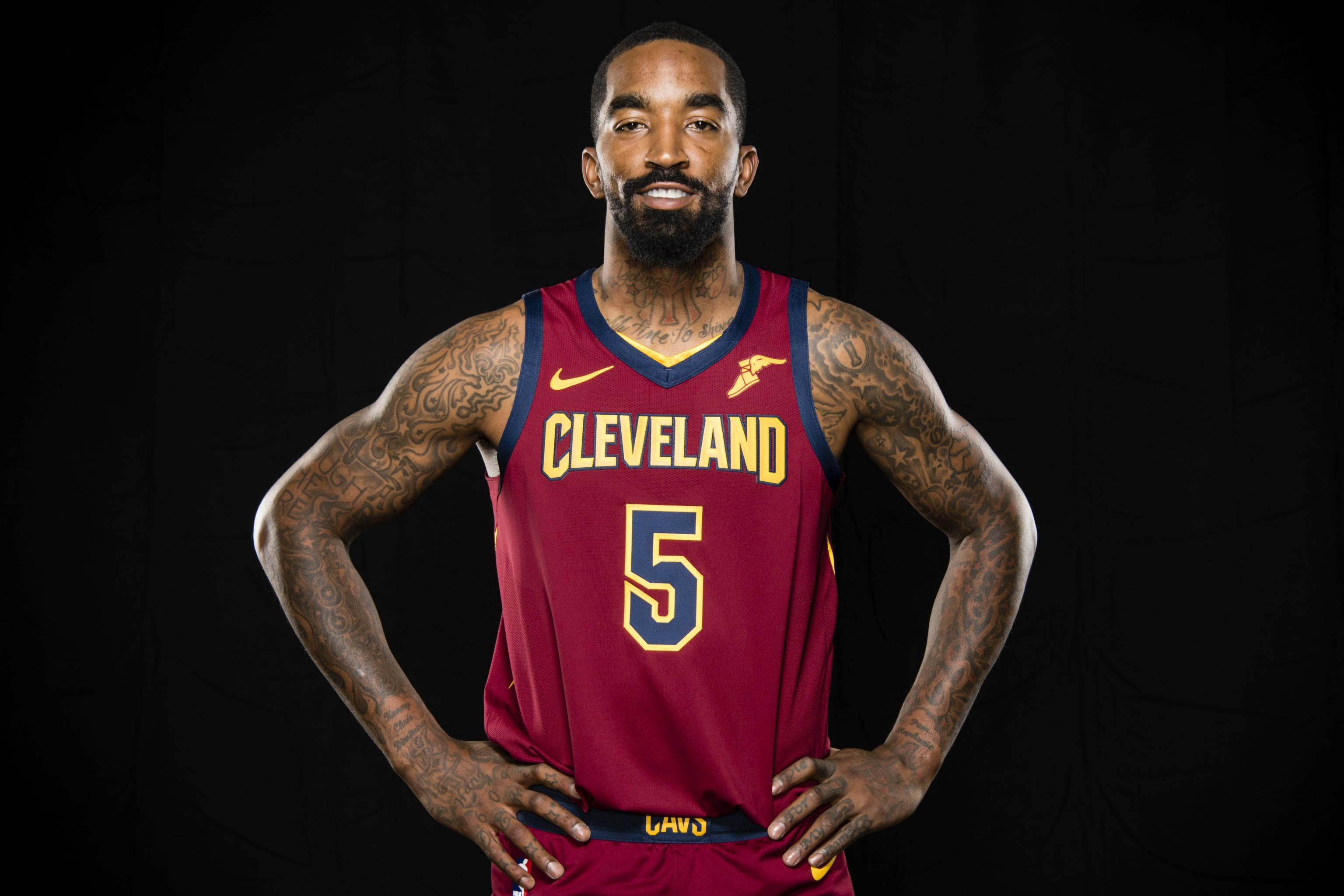 JR Smith Says NBA Will Fine Him For 'Supreme' Tattoo If He Doesn't