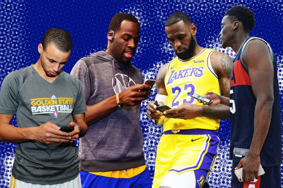 fae24fedea0 Is Social Media Addiction in the NBA Out of Control? | Bleacher Report |  Latest News, Videos and Highlights