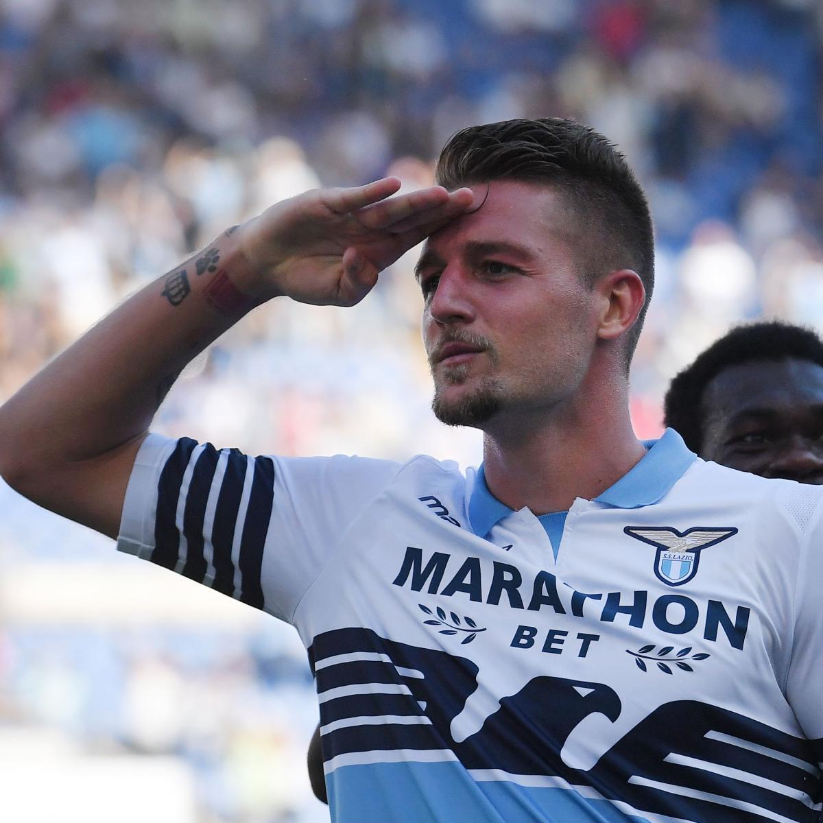 Sergej milinkovic savic extends lazio contract amid for Sergej milinkovic savic squadre attuali