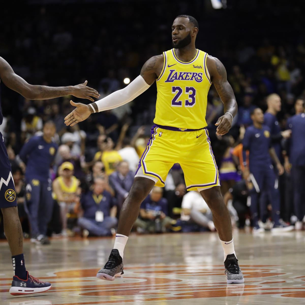 61ea3f33f73 Top Takeaways from LeBron James  Debut with the Los Angeles Lakers ...