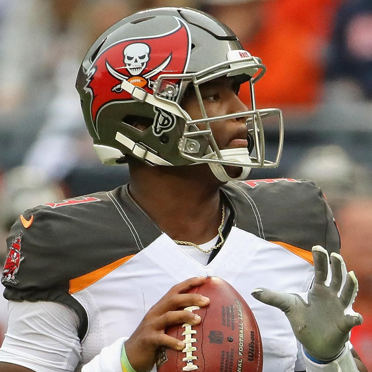 Jameis Winston Named Buccaneers  Starting QB over Ryan Fitzpatrick vs.  Falcons  bb2be532d