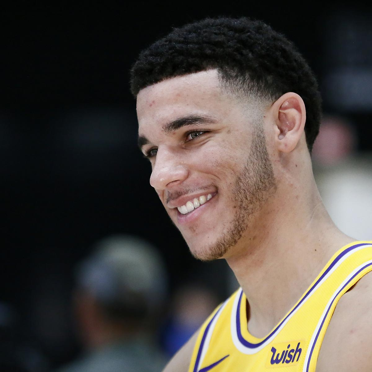 Lonzo Ball S Life With Daughter Zoey Featured On New Ball In The Family Bleacher Report Latest News Videos And Highlights