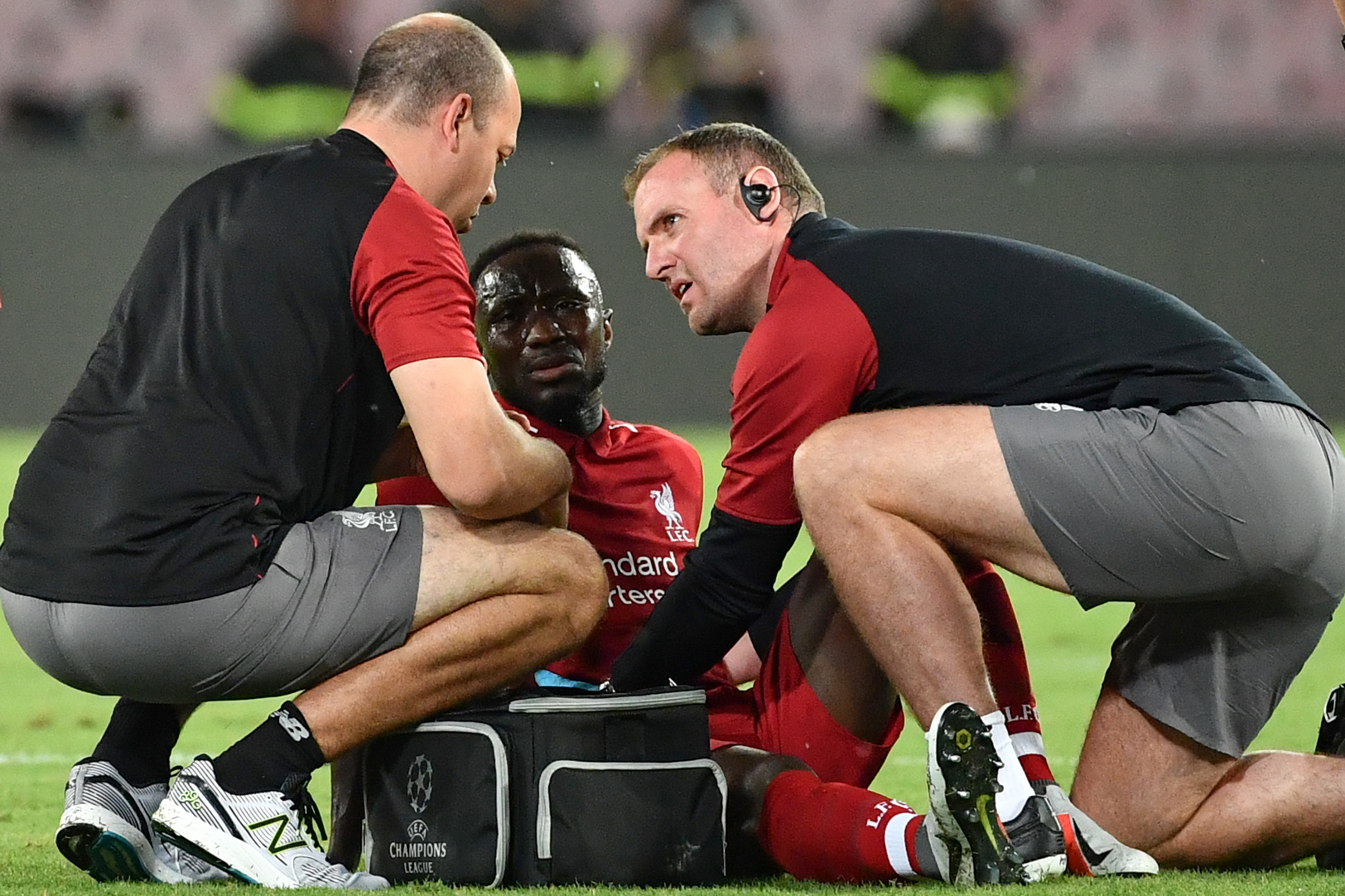 Report: Liverpool's Naby Keita Avoids Major Injury, Could Face Manchester  City | Bleacher Report | Latest News, Videos and Highlights