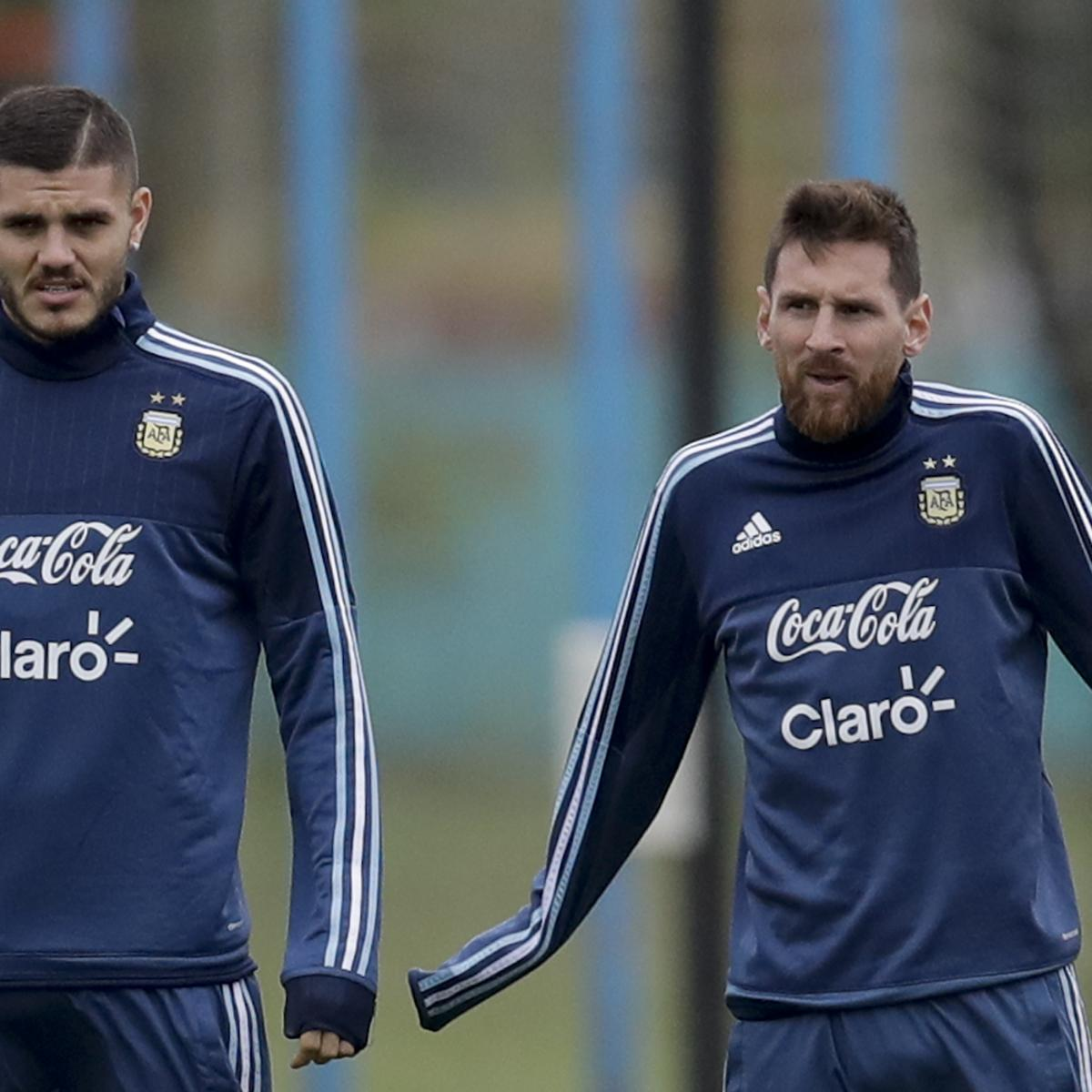 fc88baa2e06 Mauro Icardi Urges Lionel Messi to Return to Argentina National Team ...