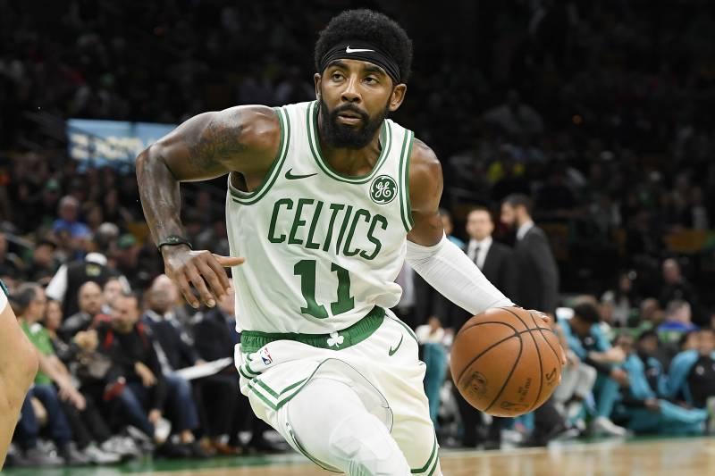 63a78fc9e92 Kyrie Irving Praises Celtics