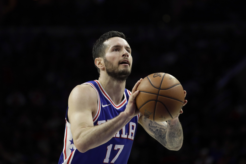 2c87f9c04 JJ Redick Booed During 76ers  Game in China over Use of Racial Slur in Video