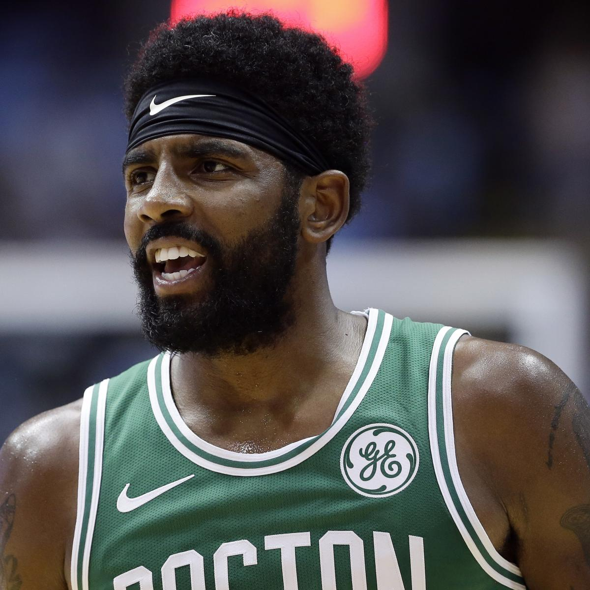 kyrie irving invited celtics teammates to his house to