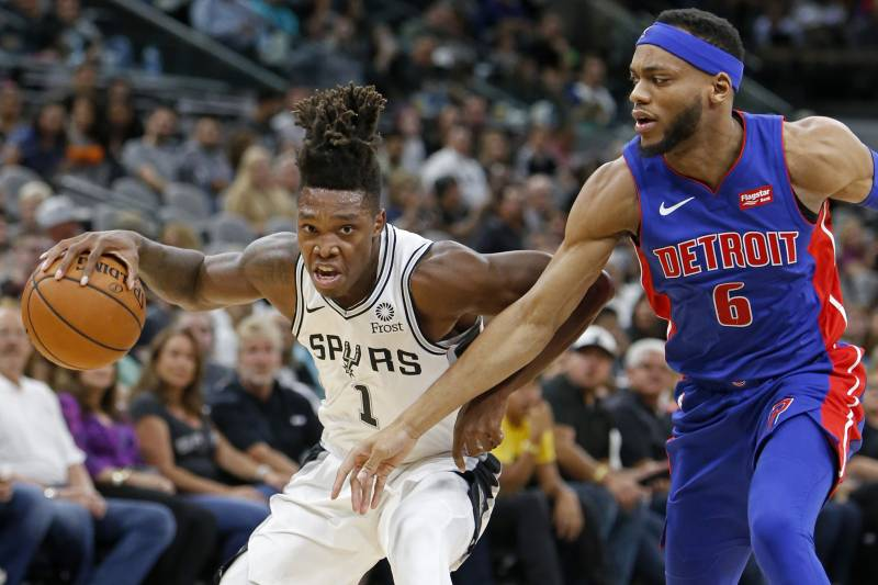 5597751e90c5 Spurs Rookie Lonnie Walker IV to Undergo Knee Surgery