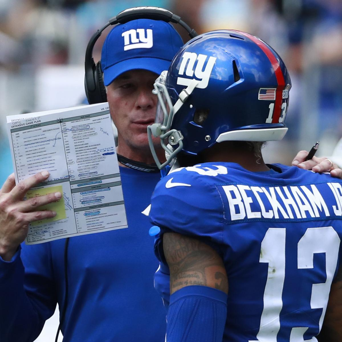 d3f0060be33f Pat Shurmur Says He Disagrees with Odell Beckham Jr. s Comments on ...