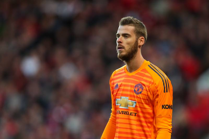 best service 3e3ec aac35 Manchester United Reportedly Not Close to David De Gea ...