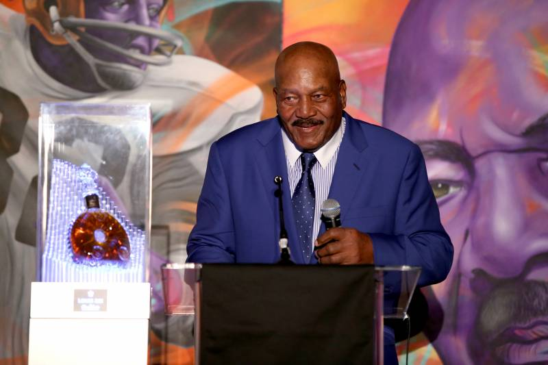 Jim Brown Highlights >> Donald Trump The Greatest Jim Brown Would Be Nfl S