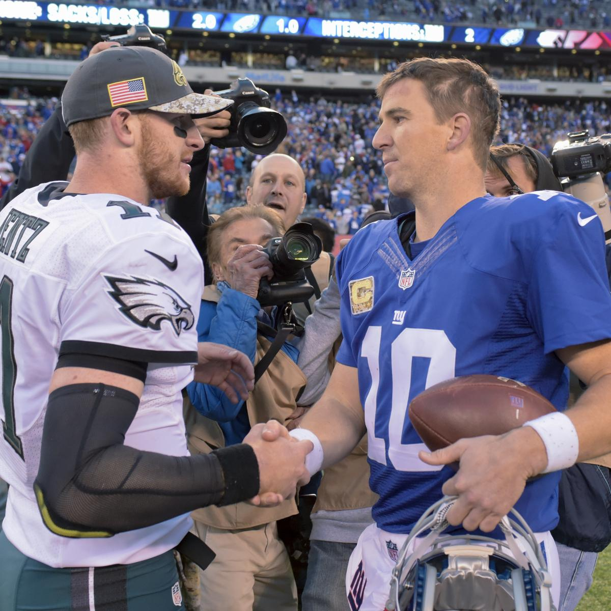 Eagles vs. Giants Spread and Full Prop Bet Odds Ahead of Thursday Night Football
