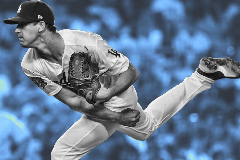 finest selection 54ea9 4c05c He Wants to Be Perfect': Walker Buehler Rides 99 MPH Wiffle ...